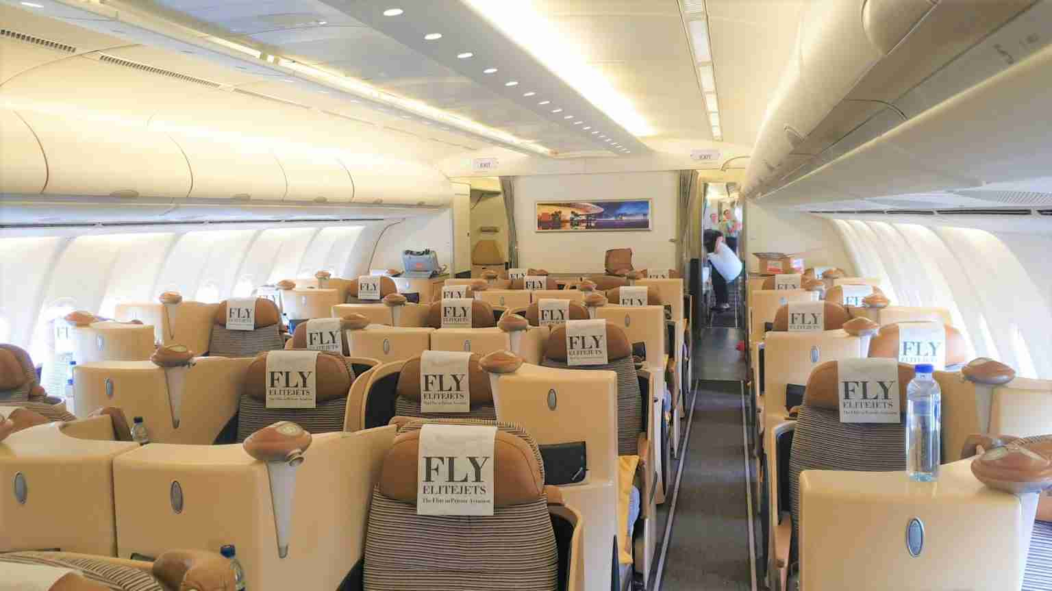 ELITEJETS A340 BUSINESS CLASS