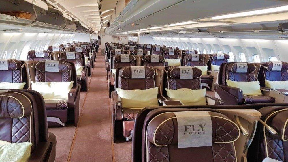 ELITEJETS GOVERNMENT A340 CABIN