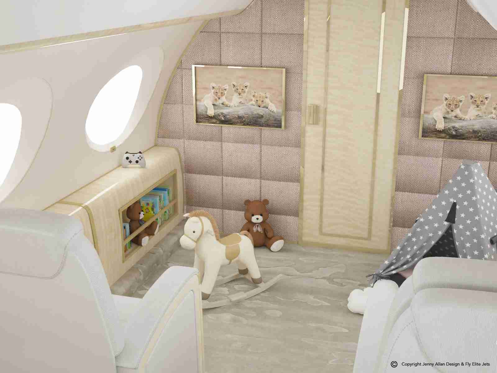 Nursery-Jet-G650-Toy-Section